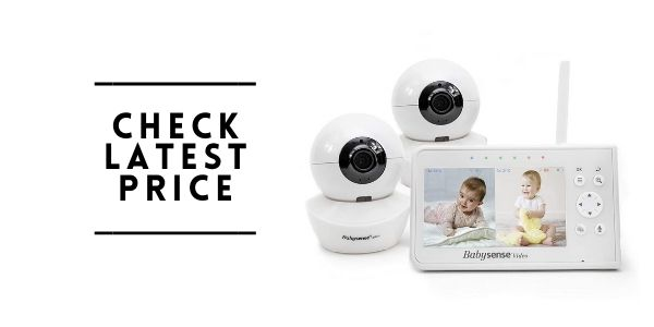 Babysense 4.3 Split Screen Baby Monitor
