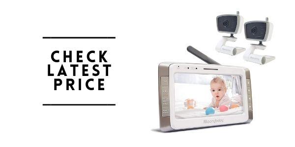 Moonybaby Trust 50-2 Non-WiFi Baby Monitor