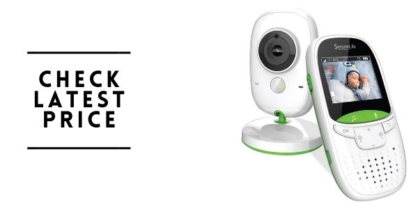 SereneLife USA Video Baby Monitor