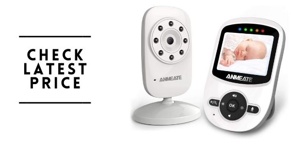Anmeate Video Baby Monitor with Digital Camera SM24
