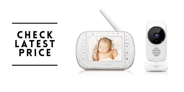 Motorola MBP668 Baby Smart Video Baby Monitor