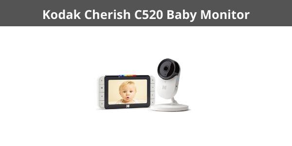 Kodak Cherish C520 Baby Monitor