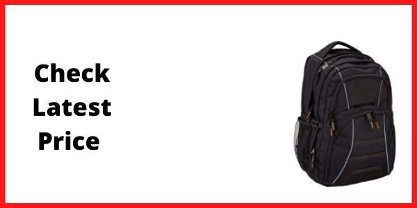 AmazonBasics Travel Backpack For Medical School  College