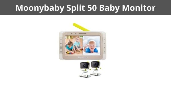 Moonybaby Split 50 Baby Monitor