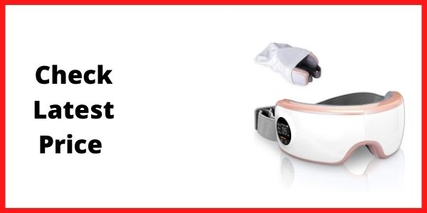 SereneLife Stress Therapy Electric Eye Massager
